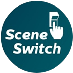 Multipack 10x Philips SceneSwitch LEDcandle E14 B38 5.5W 827 Clear | SceneSwitch Dimmable - Replaces 40W