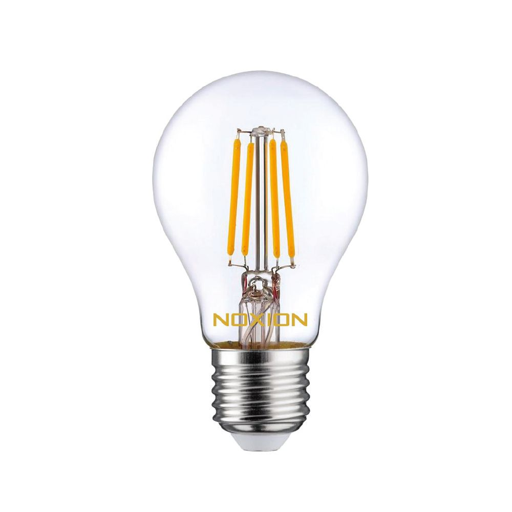 Noxion Lucent Filament LED Bulb 8W 827 A60 E27 Clear   Replacer for 75W