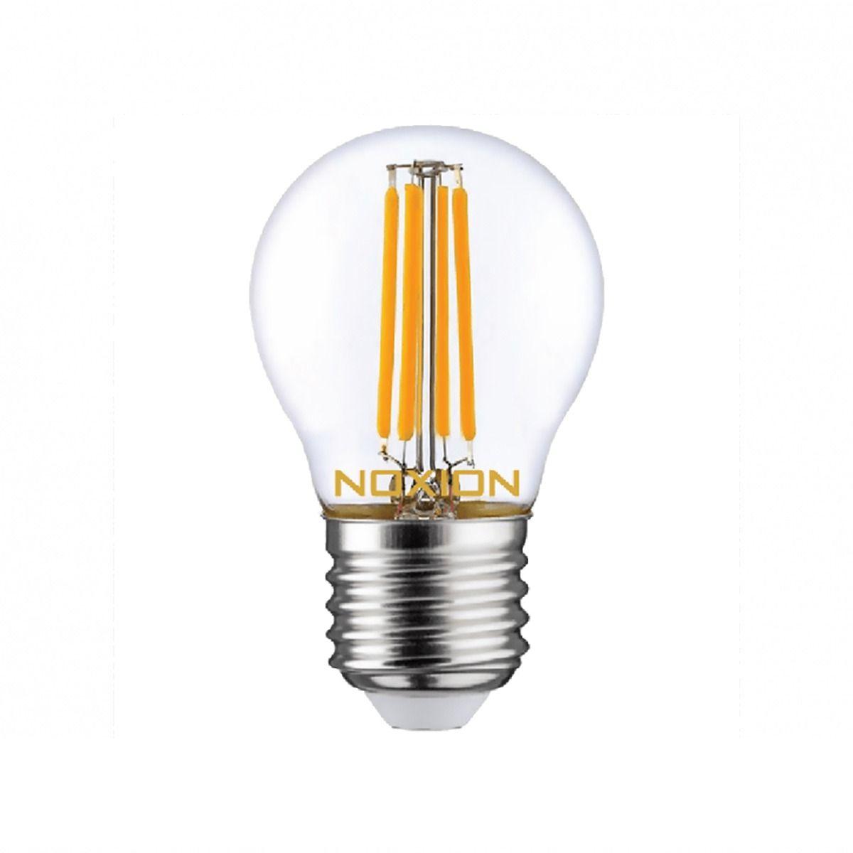 Noxion Lucent Filament LED Lustre 4.5W 827 P45 E27 Clear   Replacer for 40W