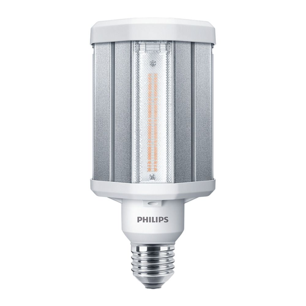 Philips TrueForce LED HPL E27 42W 830 Clear   Warm White - Replaces 125W