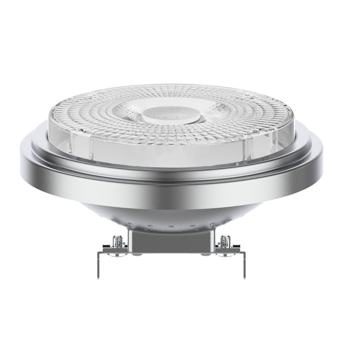 Noxion Lucent LED Spot AR111 G53 12V 7.3W 927 40D | Dimmable - Highest Colour Rendering - Replacer for 50W