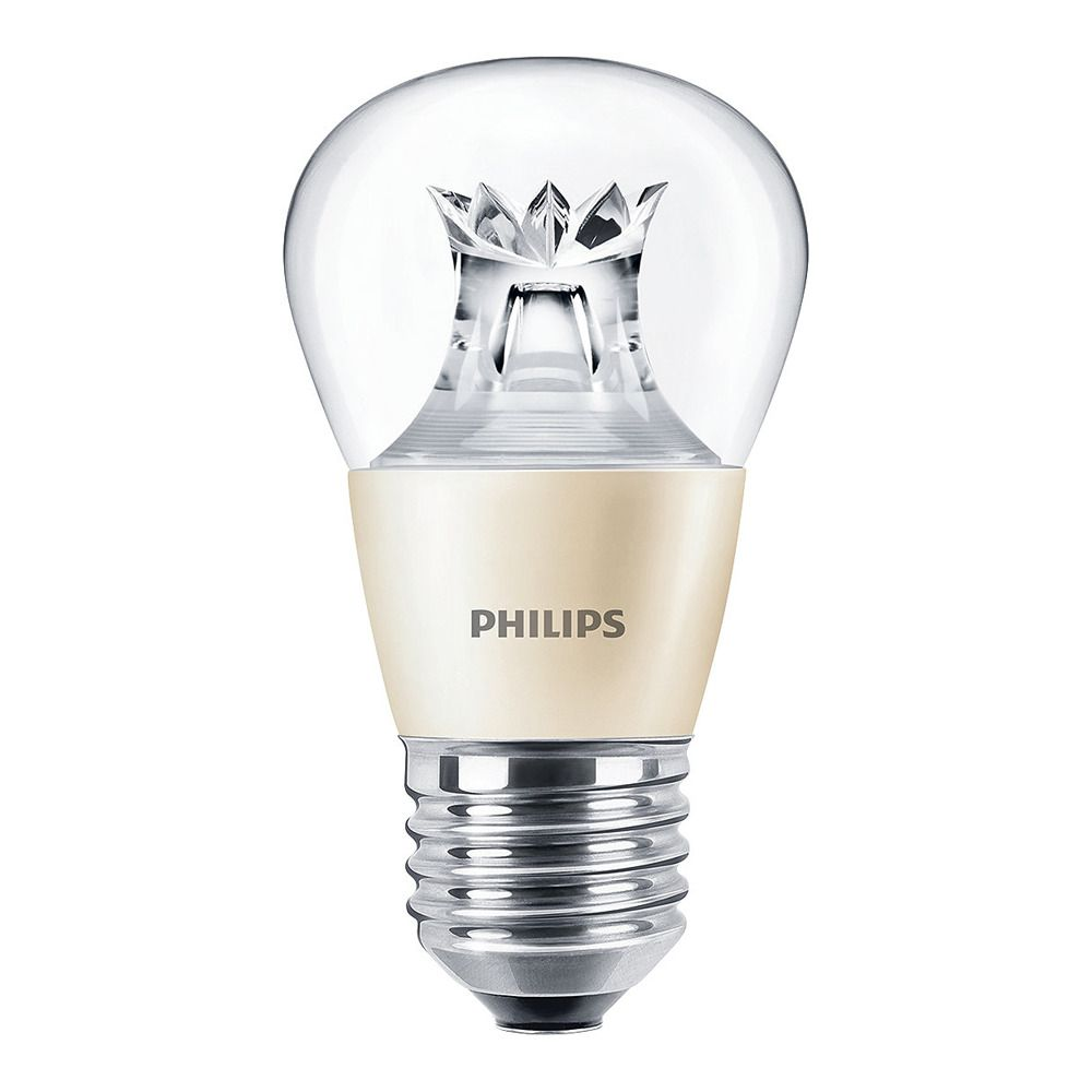 Philips LEDluster E27 P48 6W 827 Clear MASTER | DimTone Dimmable - Replaces 40W