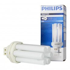 Philips PL-T 18W 840 4P MASTER | 4-Pin