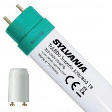 Sylvania ToLEDo EM Superia T8 LED Tubes |